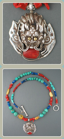 NE16 - Turquoise Coral Dragon - <font color=red><i>New!</font></i>