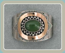 R136 - Jade with 18K Accent (9)- <font color=red><i>New!</font></i>